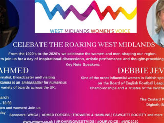 Celebrate the Roaring West Midlands for International Women's Day