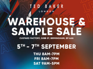 Ted Baker Warehouse and Sample Sale