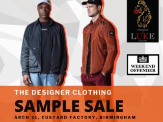The Designer Clothing Sample Sale